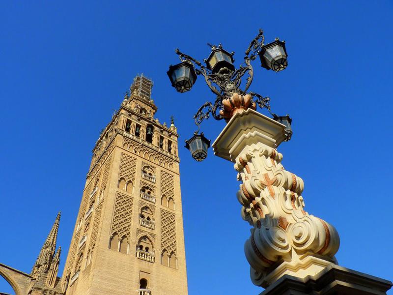 Giralda de Sevilla-España