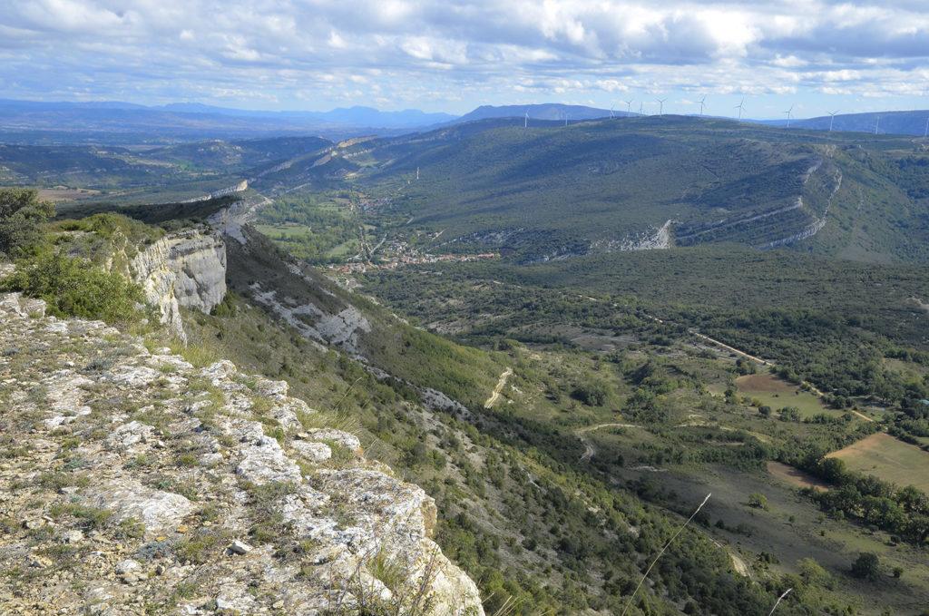 Vista desde Hazas de la Sierra-Burgos
