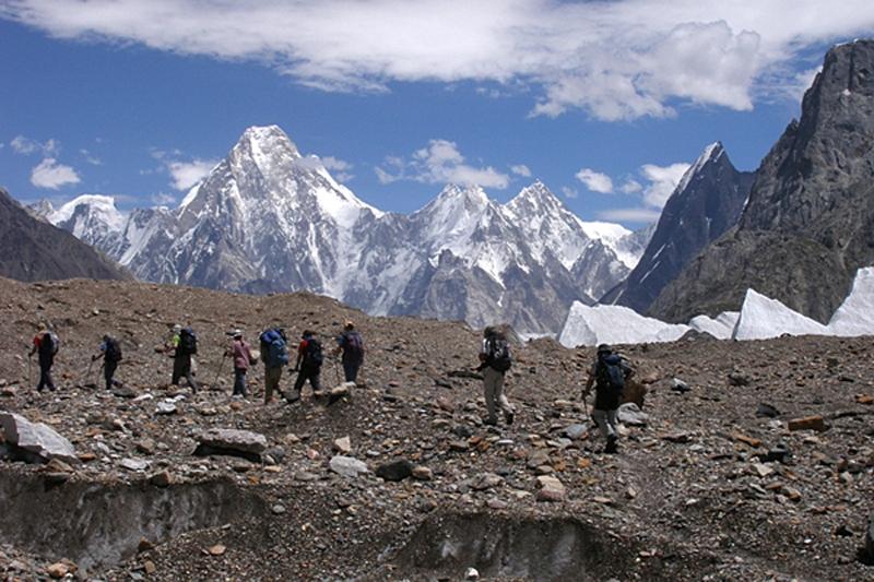 Trekking del Baltoro, Karakórum. Paskistán