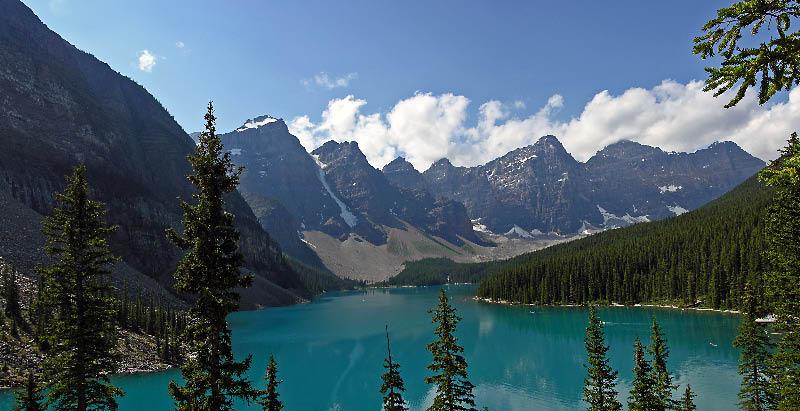 Lago Moraine en Banff NP