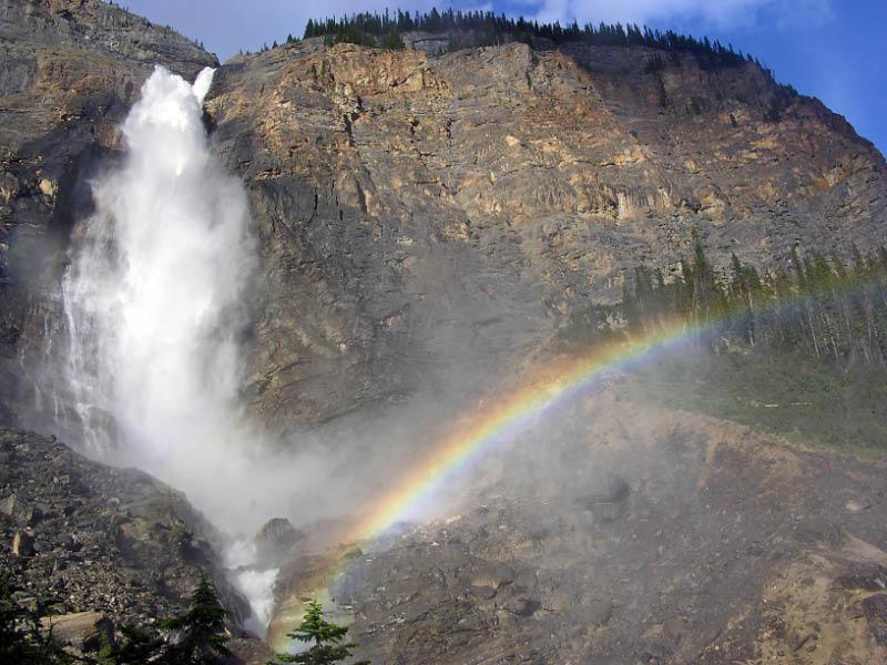 Cascada Takakaw en Yoho NP