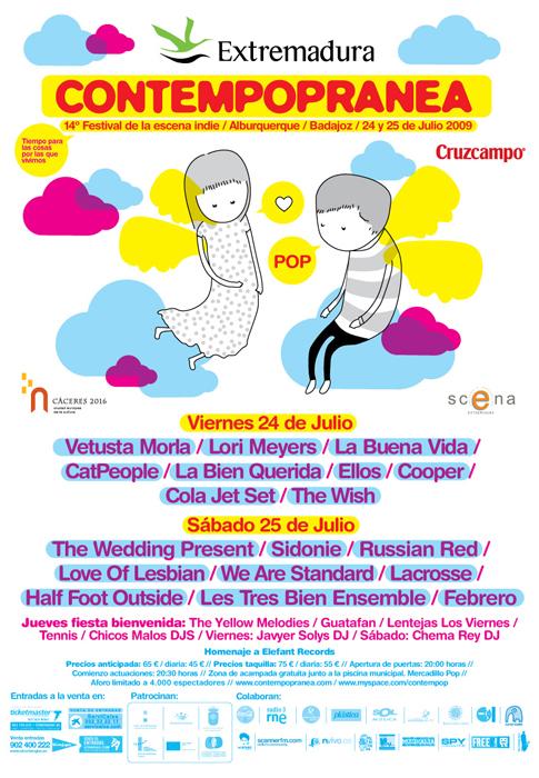 Cartel del festival, 2009