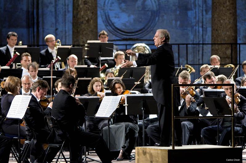 Orquesta sinfonica del Festival de Música y Danza de Granada