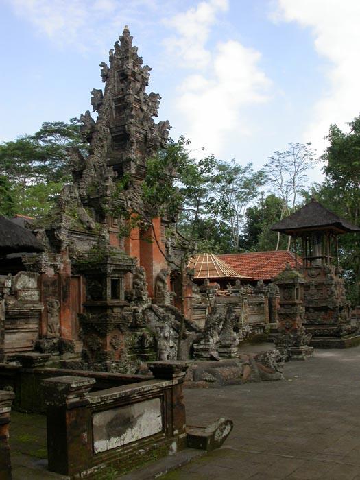 Templo hindú. Bosque de los Monos