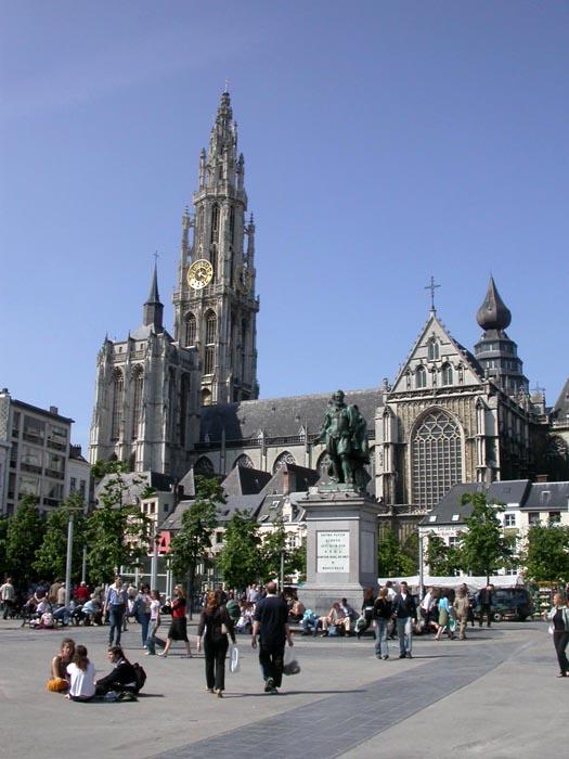 Groenplaats. Amberes. Bélgica