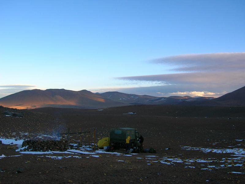 Campamento ruta sureste