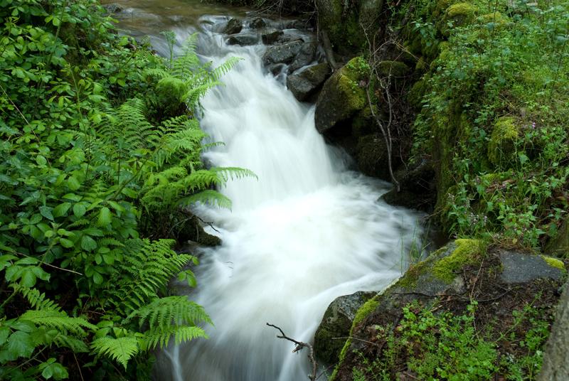 Cascada, Ruta de la fuente del Lobo