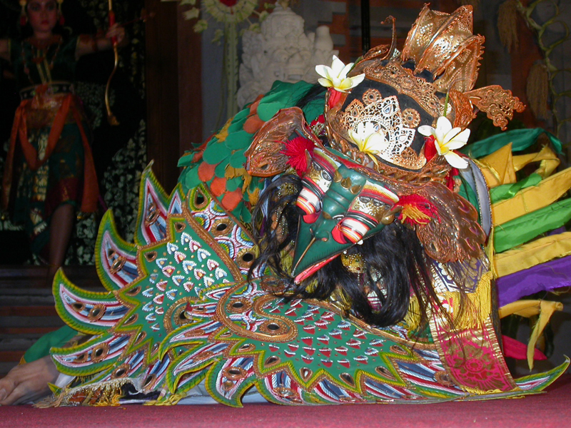 Garuda. Ballet del Ramayana. Ubud. Bali. Indonesia