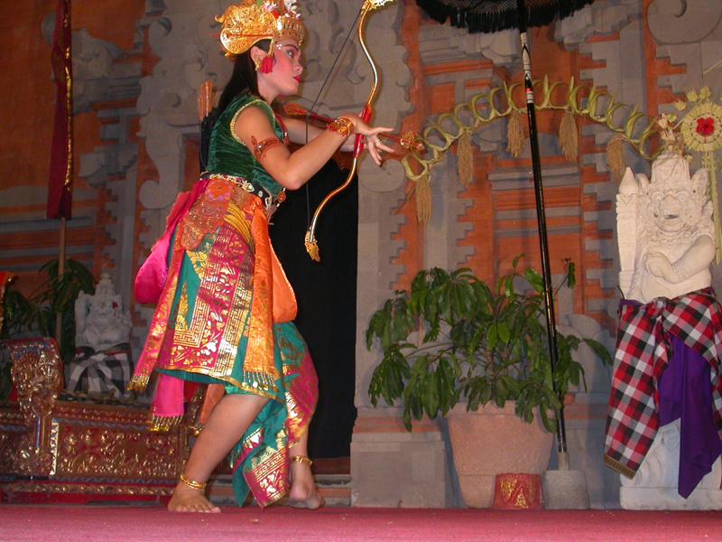 Ballet del Ramayana. Ubud. Bali. Indonesia