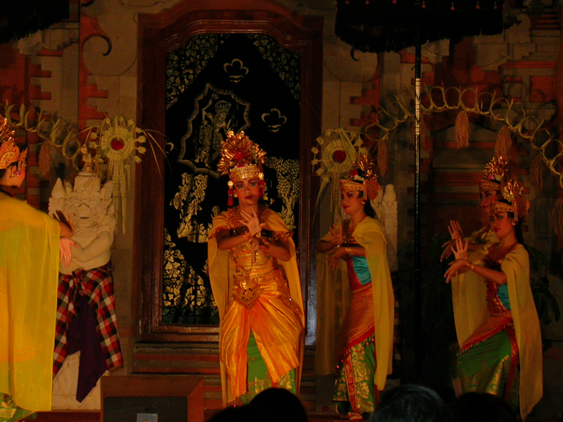 Danza del Legong. Ubud. Bali. Indonesia