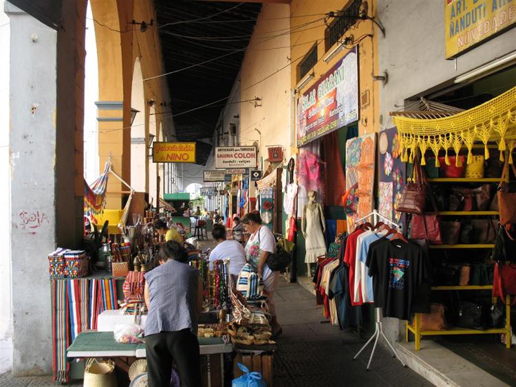 Mercado de la Recoba en Asunción