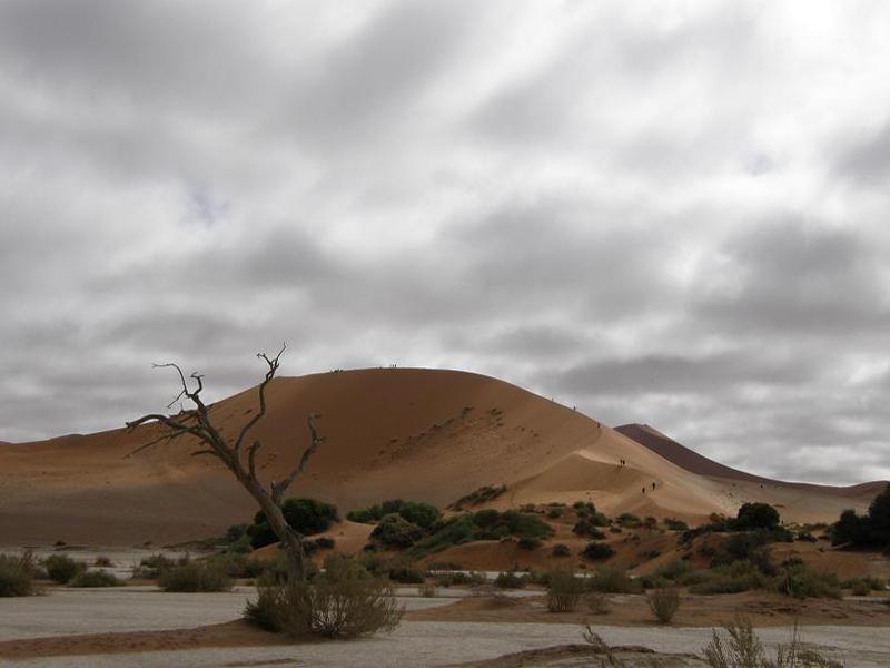 Namibia en Sossusvlei