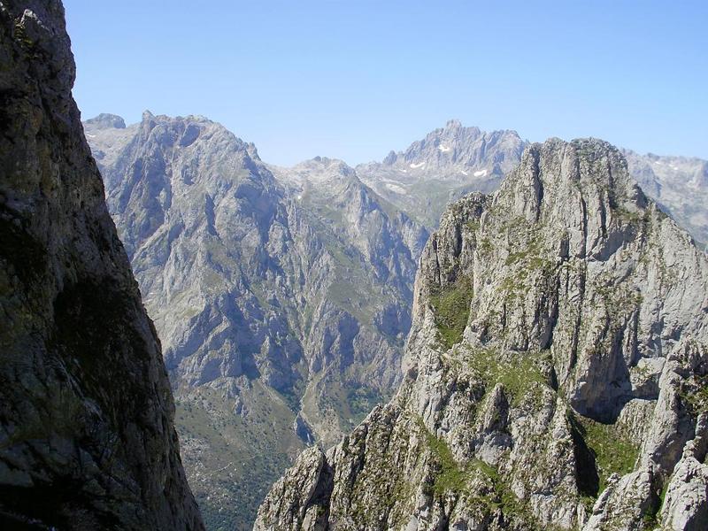 Collado Solano, Picos de Europa
