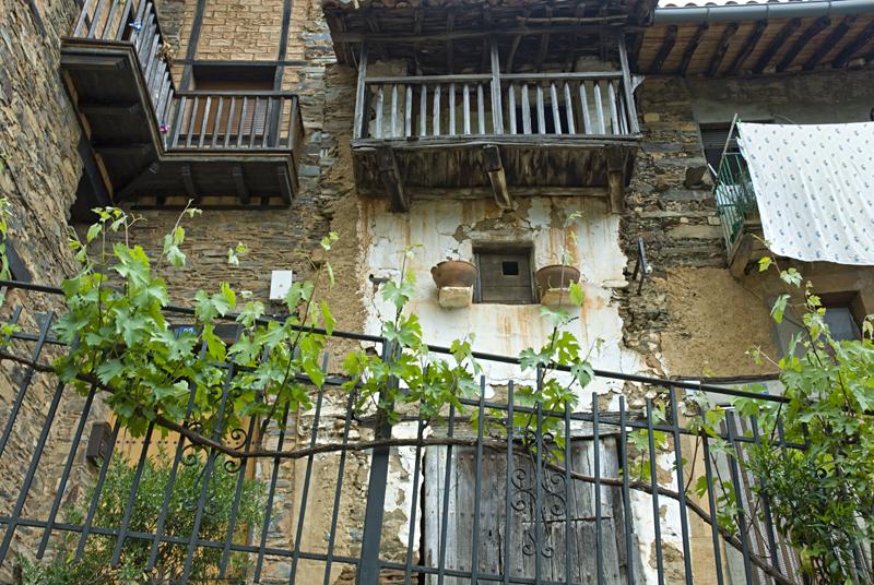 Balconada de Robledillo de Gata