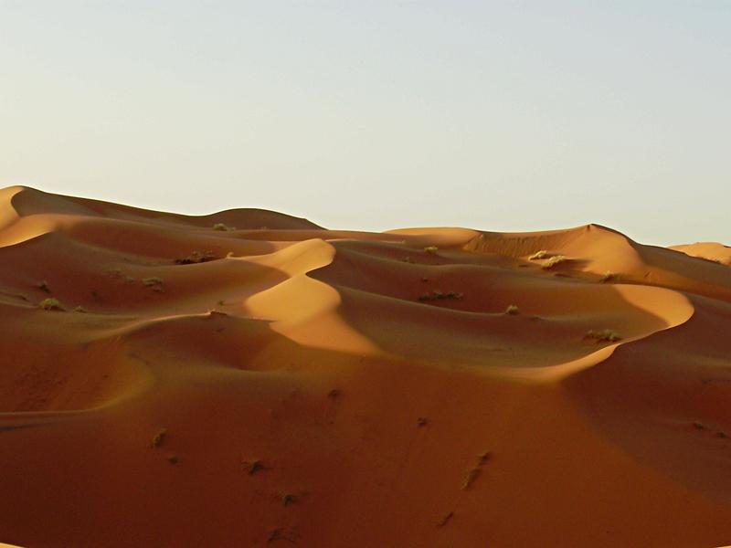 dunas al amanecer