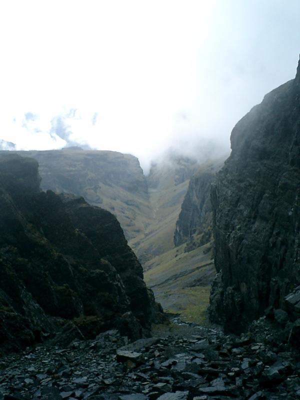 Foto 18 -Vista al Cañón desde el abra Mikaya