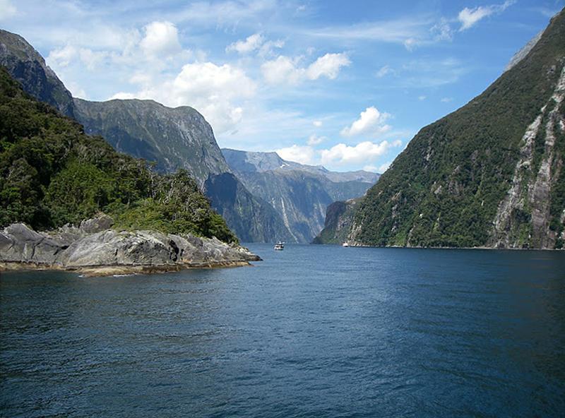Fiordo, Nueva Zelanda
