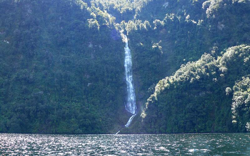 Cascada,  Nueva Zelanda