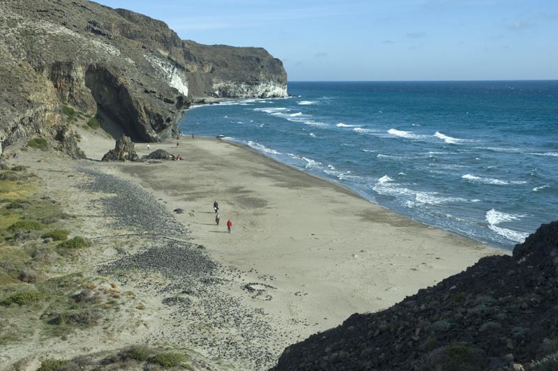 Playa del Barronal, Cabo de Gata