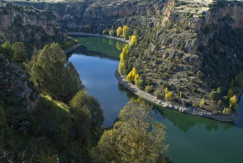 Las Hoces del Río Duratón, Segovia
