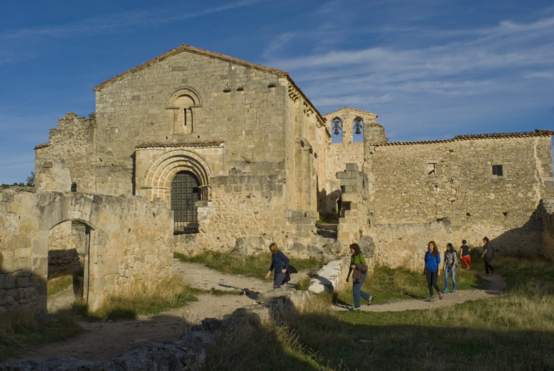 Ermita de San Fritos. Las Hoces del Duratón. Segovia