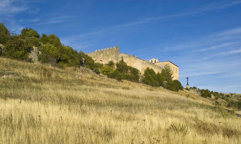 Ermita de San Fruto. Las Hoces del Duratón. Segovia