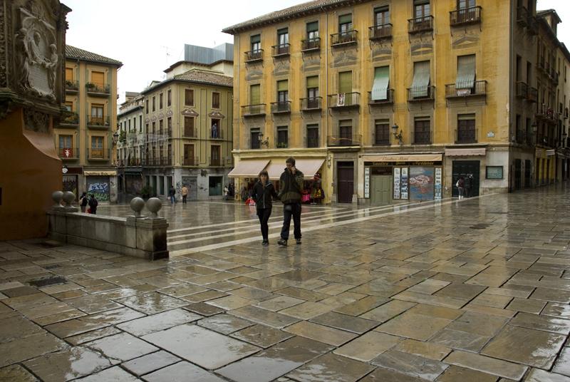 Plaza de las Pasiegas. Granada