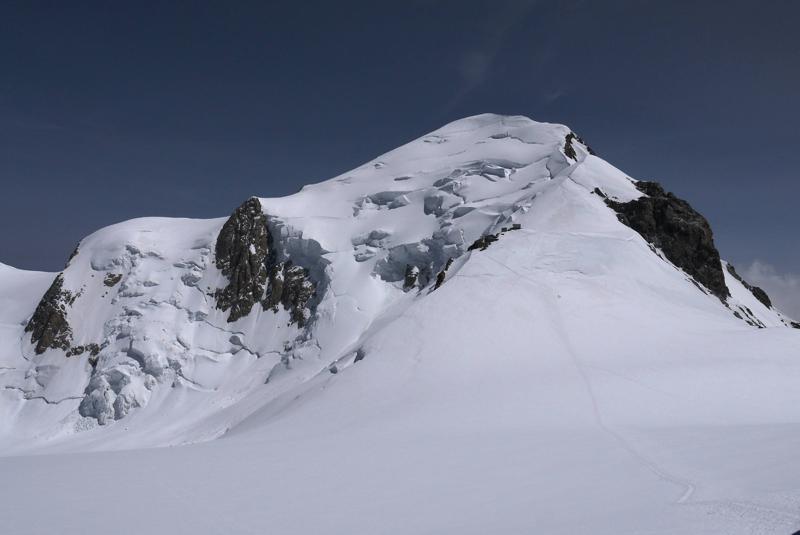 Mont Blac desde el Dìme