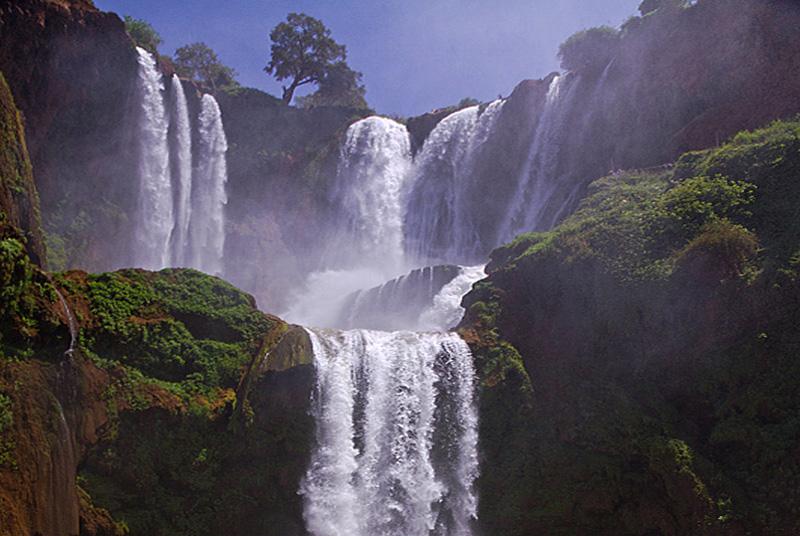 Cascada-Marruecos