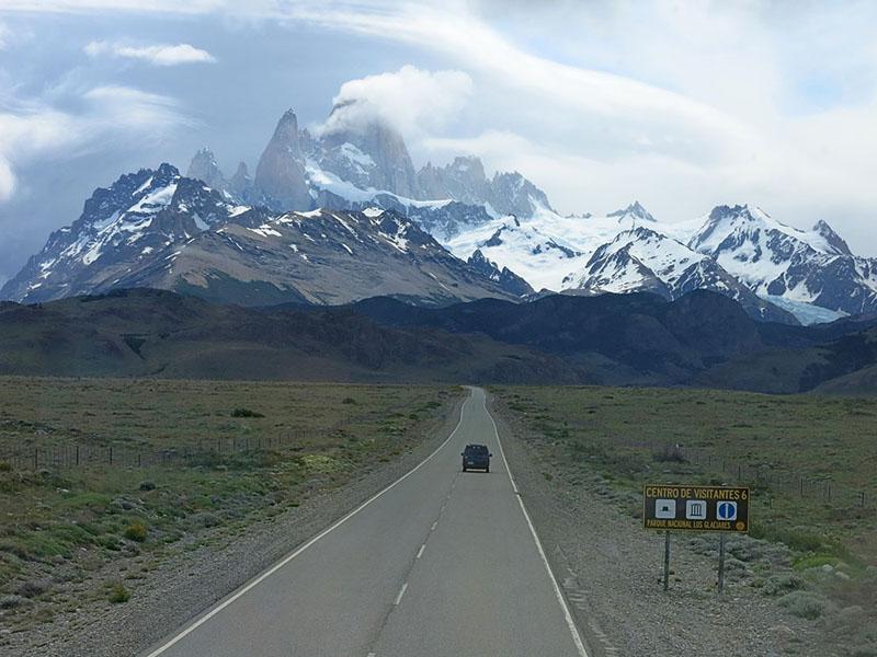 Carretera a El Chaltén