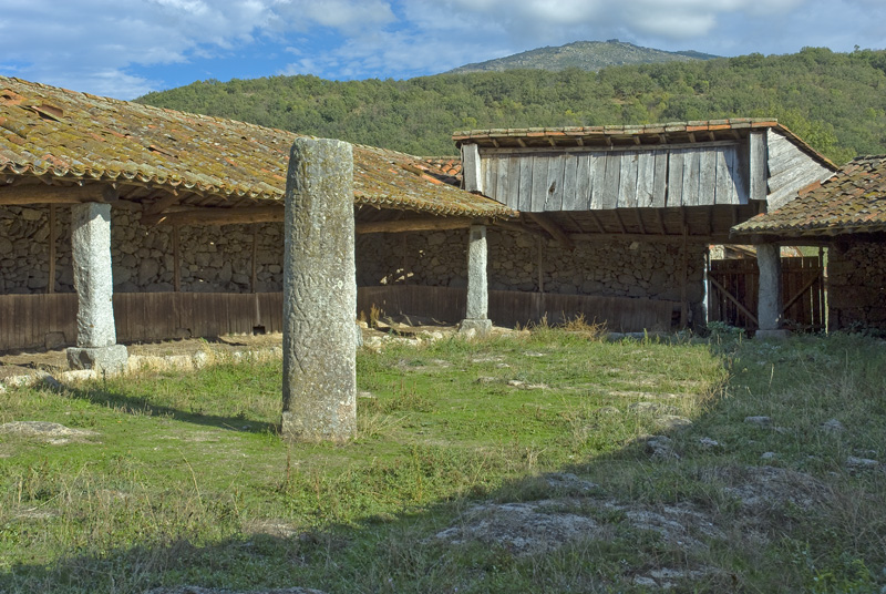 Establo del miliario de la Malena, Calzada de la Plata, Salamanca