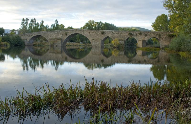 Río Tormes, puente medieval, Barco de Ávila- Gredos