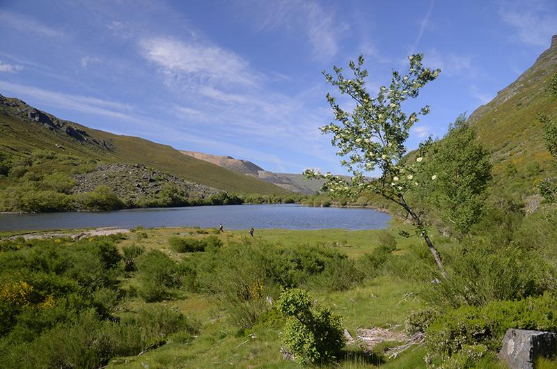 Lago de la Baña, Sierra de la Cabrera, León