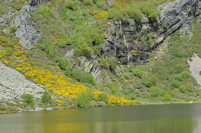 Lago Truchillas, Sierra de Cabrera, León