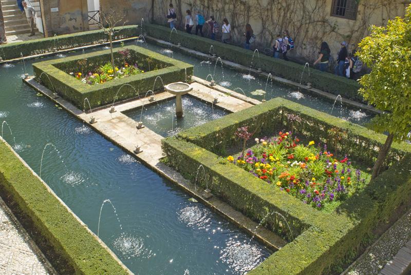 Jardines del Generalife - Granada