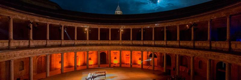 Palacio de Carlos V, Festival Internacional de Música y Danza de Granada