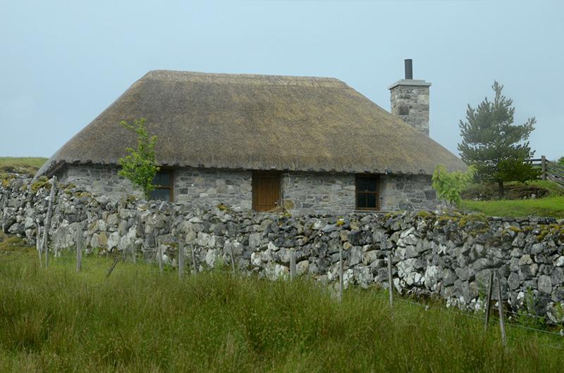 Casa tradicional en Skye