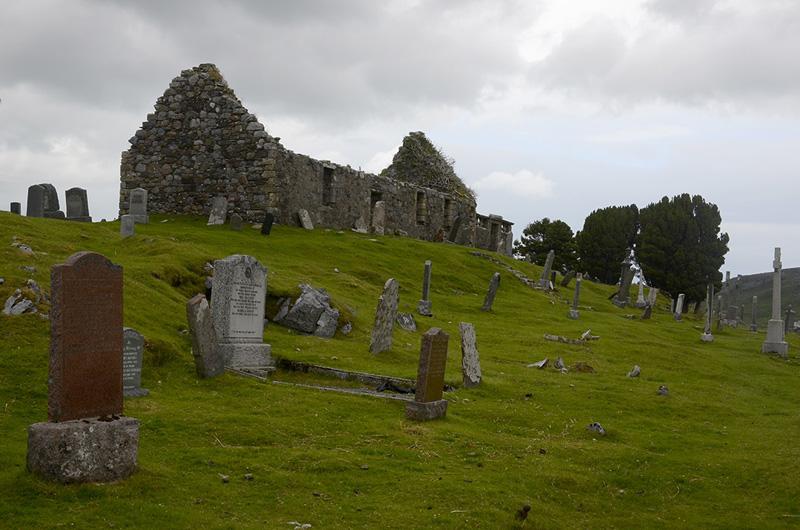 Cementerio en Skye