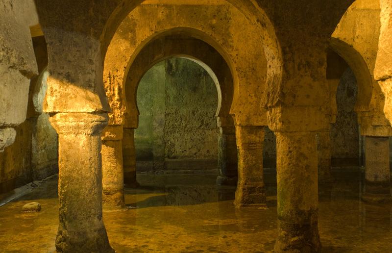 Aljibe árabe del palacio de Las Veletas, Cáceres
