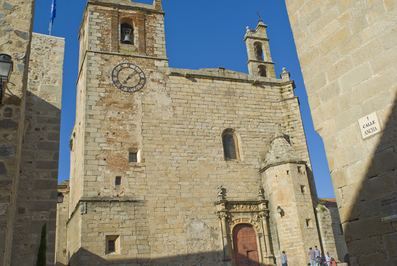 Iglesia de San Mateo, Cáceres