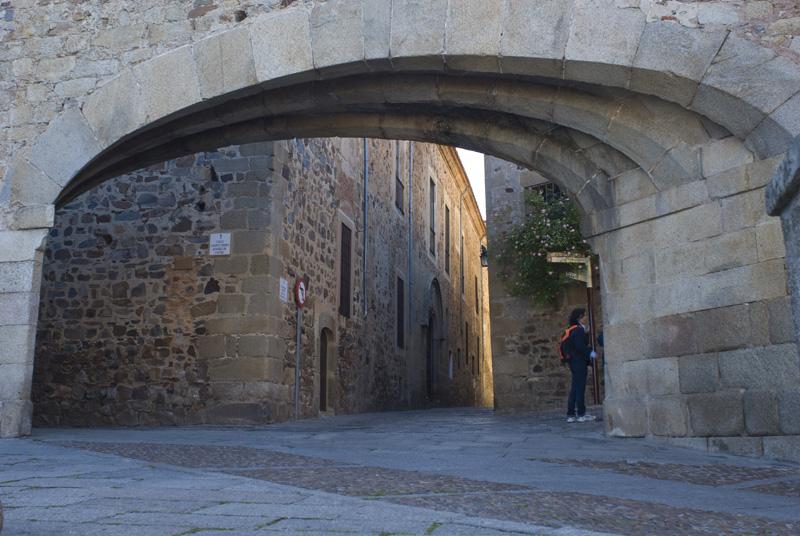Arco de la Estrella, Cáceres
