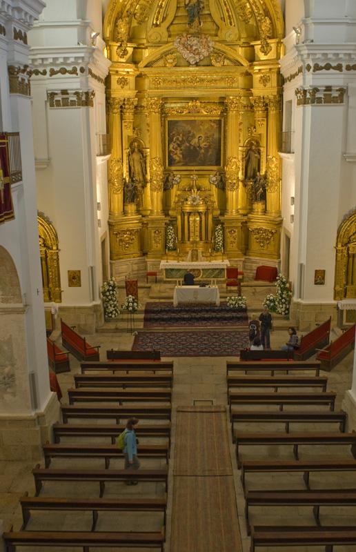 iglesia de San Francisco Javier, Cáceres