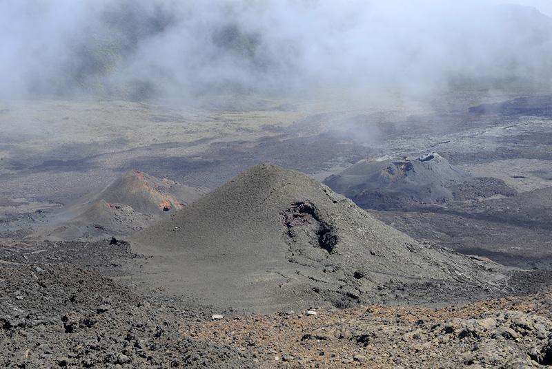 Caldera Fournaise, Isla de la Reunión