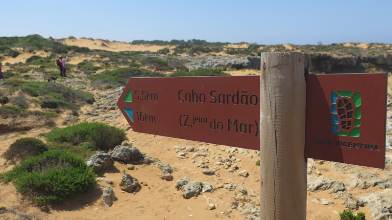 La costa Vicentina, Alentejo Algarve, Portugal