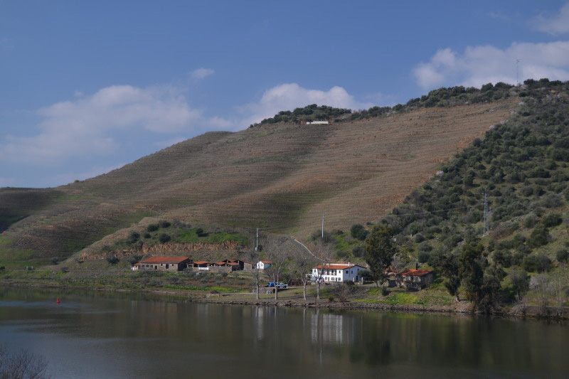 Barca d'Alba, Río Douro, Portugal