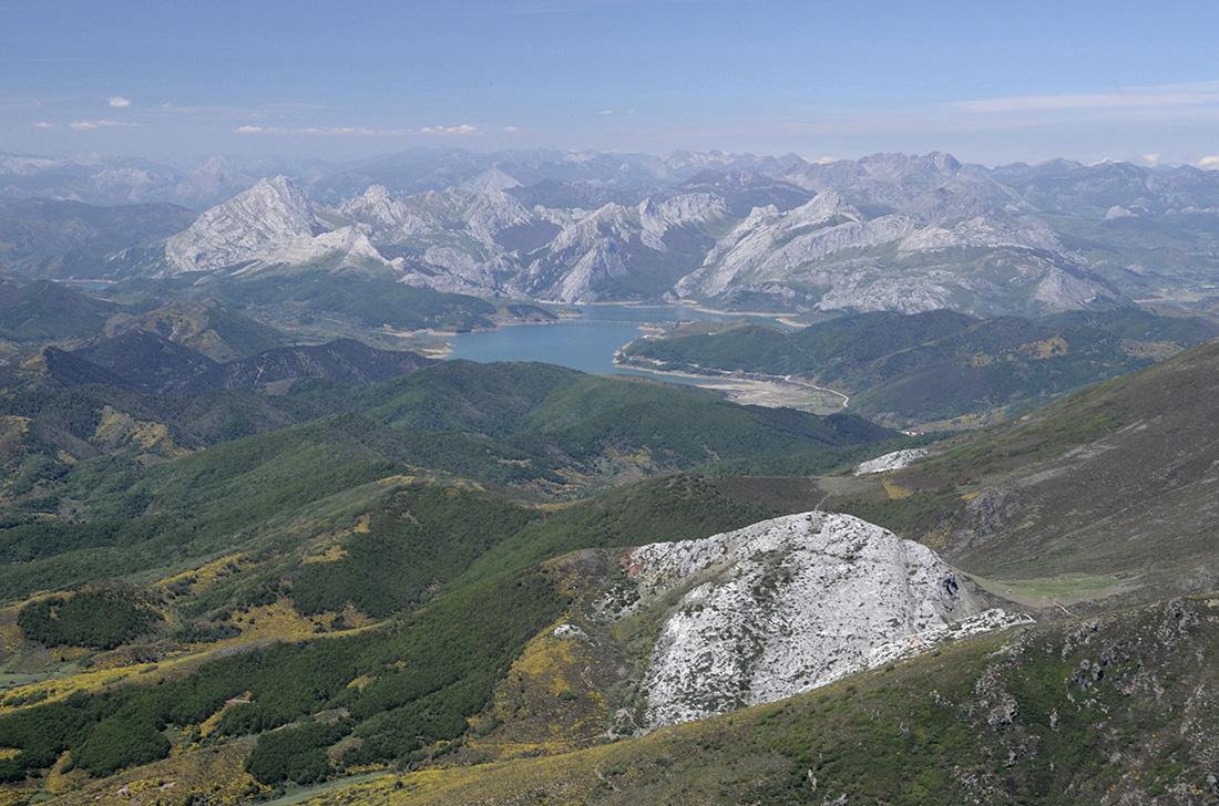 Embalse y montaña de Riaño, La Montaña Palentina