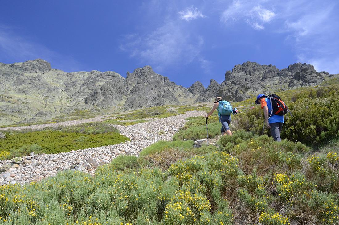 Largo ascenso, Montaña Palentina