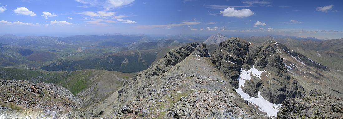 En la cumbre, Montaña Palentina