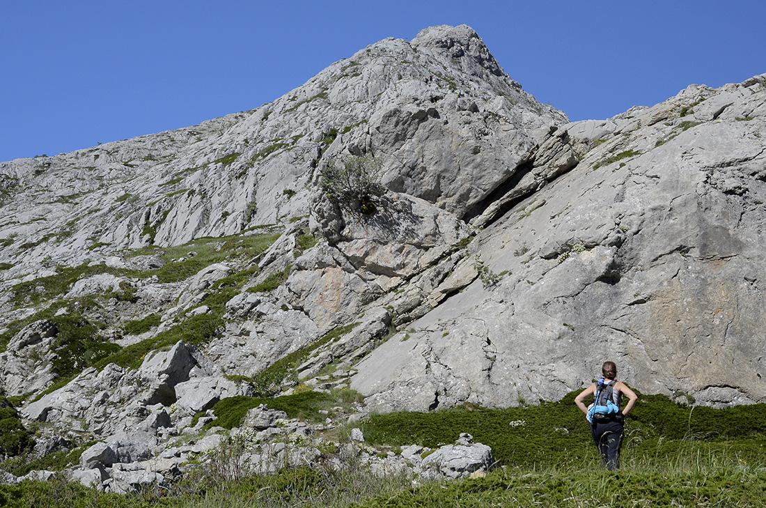 La arista este del Espigüete, La Montaña Palentina