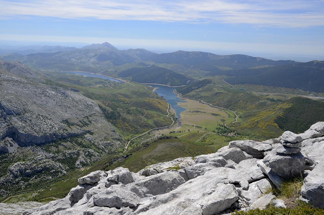 Emblase de Camporredondo, Montaña Palentina